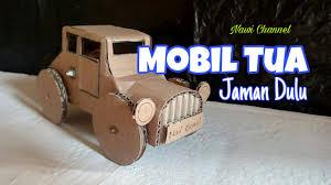 membuat miniatur mobil dari kardus cara membuat mobil mainan dari kardus youtube