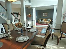 Color Schemes For Open Floor Plans Perfect Gray Paint Color To Update A Dining Room A Pretty House
