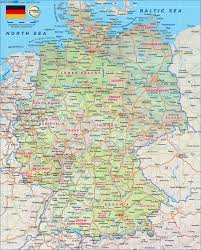 Bremen Germany Map by Map Of Germany Map In The Atlas Of The World World Atlas