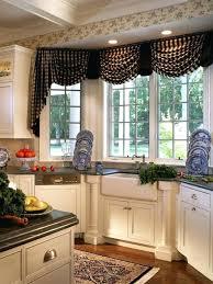 kitchen bay window curtain ideas kitchen bay window curtains or kitchen bay window treatment ideas