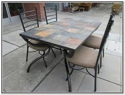 ceramic tile top patio table ceramic tile patio table big lots patio furni 1374 pmap info