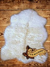 amazon com fur accents classic black bear skin accent rug plush