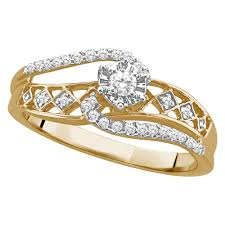 gold promise rings silver and gold promise ring walmart