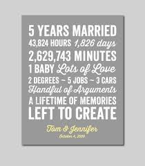 5 year anniversary ideas cool ideal 5 yr wedding anniversary gift my wedding site