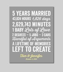 5 year anniversary ideas cool ideal 5 yr wedding anniversary gift my wedding site