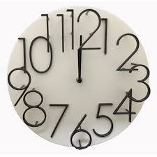 appealing number wall clock 44 roman numeral wall clock creative