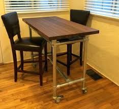 Movable Kitchen Island With Seating Butcher Block Rolling Kitchen Island Helps You Entertain Your
