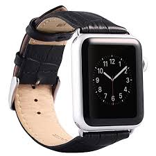 black leather strap bracelet images Valkit for apple watch band iwatch bands 42mm genuine leather jpg
