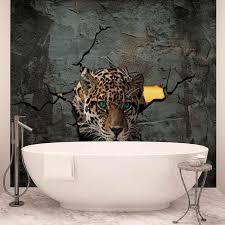 jaguar leopard 3d photo wallpaper mural 2771wm consalnet jaguar leopard 3d photo wallpaper mural 2771wm