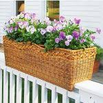 deck railing planters deck rail planter frames woodworking plan