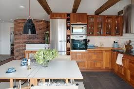 Swedish Kitchen Design Apartment Interesting Swedish Kitchen Design With Hardwood Floor