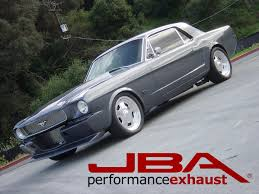 Vintage Ford Truck Exhaust - jba performance exhaust new product u002764 1 2 to u002770 mustang