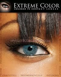 light blue eye contacts extreme colour seductive blue contact lenses