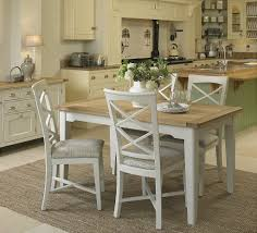 dining room extendable tables cottage oak and painted small