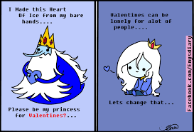 valentines card ice king and queen by emilysdiary on deviantart