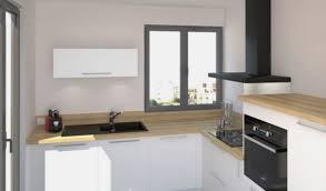 cuisine bouleau cuisine bois noir beautiful cuisine blanche et bois luxury cuisine