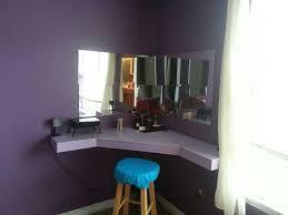 Diy Vanity Table Corner Bedroom Vanity