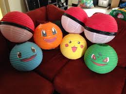 pokemon lanterns great pokemon party decoration pokemon party