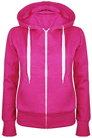 ladies plain hoody girls zip top womens hoodies sweatshirt jacket