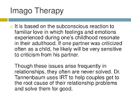 solving relationship problems through imago therapy