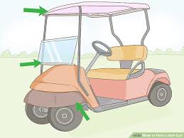 How Many Cans Of Spray Paint To Paint A Car - how to paint a golf cart with pictures wikihow