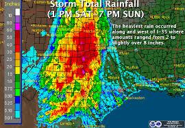 rainfall totals map october 8 9 2011 rainfall