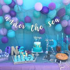 the sea decorations purple and silver 18th birthday decorations best simple ideas on