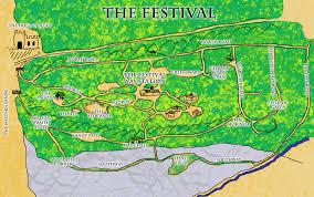 Festival Map Herofest Larp Map Of The Festival Lands