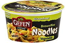 gefen noodles gefen noodles brown rice vegetable 2 25 oz nutrition information