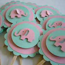 pink and mint green baby shower decorations baby shower decoration