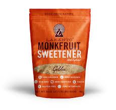 Top 5 U2013 Low Or by No Calorie Sweetener Sugar Substitute Lakanto Sweetener