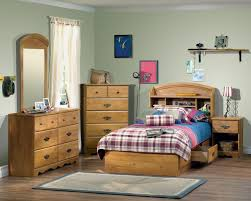 Bed With Headboard And Drawers Bedroom Ideas Boys Bedroom With Clear Polished Wood Twin Bed With