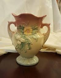Hull Pottery Vase Vintage Original Hull Pottery Wildflower Vase W8 7 1 2