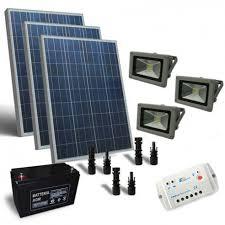 solar lighthouse light kit solar lighting kit 300w 12v outdoor 3x lighthouse led 30w photovoltaic