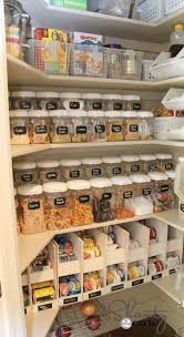 how to organize kitchen cabinet pantry 20 small pantry organization ideas and makeovers