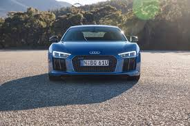 audi r8 chrome blue wallpaper audi r8 v10 blue front view hd picture image