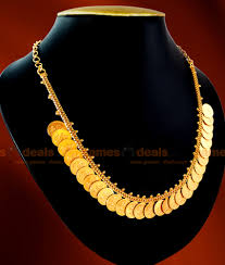 women necklace design images Nckn02 one gm chidambaram gold plated jewellery lakshmi kasu malai jpg