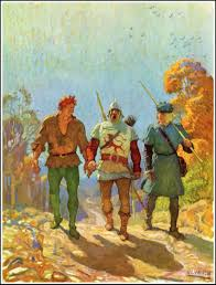 n c wyeth the white company by a conan doyle published by david
