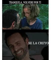 Memes The Walking Dead - 15 memes que s祿lo entender磧n los fans de the walking dead qcosas