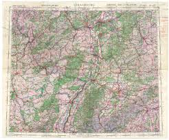 Topographical Map Of Oregon by Historical Archive Of The 8th Air Force In World War Ii Oregon