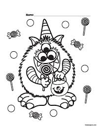 Coloring Pages For Kids Halloween by Enjoyable Printable Halloween Coloring Pages Printable Halloween