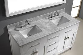 White Double Vanity 60 Furniture Exquisite Double Bathroom Vanities Creative Affordable