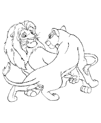 coloring page lion male and female lions coloring page lion coloring page