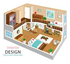 home design story rooms a vector illustration of a modern detailed isometric apartment