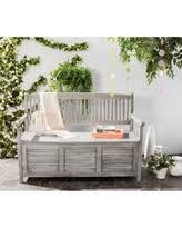 Patio Furniture Storage Bench Storage Bench Outdoor U0026 Patio Benches Bhg Com Shop