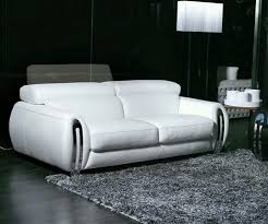 decoration ideas beautiful black leather tufted fold up sofa bed