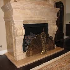 Travertine Fireplace Hearth - fireplace gallery artisan kraft