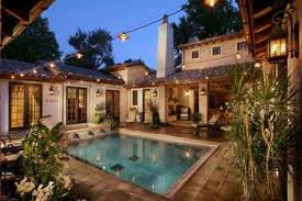 house plans with pools 25 modern mediterranean house plans pool cool house back with