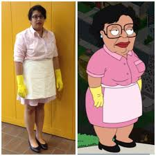 Mexican Maid Meme - a perfectly executed family guy cleaning lady consuela halloween