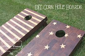 stars and stripes corn hole boards diy tutorial diy corn hole